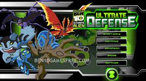 ben 10 ultimate defense play game