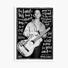Woody Guthrie - this land is your land ...