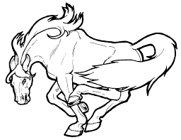 Horse Coloring Pages Jpg Coloring Page Horse In General Style 3138 ...