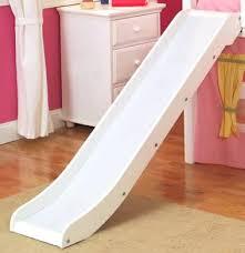 slide for loft bed for bed shown in white dorm bunk bed slide slumber and  slide