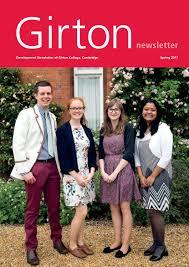 Girton College Newsletter 2017 by Girton College - issuu