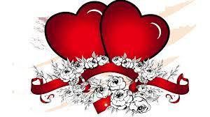 Beautiful Heart Design Download 1920x1080 Beautiful Two Red Heart Vector Design Hd
