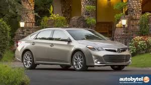 2013 Toyota Avalon XLE Test Drive & Full-Size Sedan Car Video ...