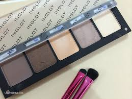 my neutral eye shadow palette from the inglot freedom system