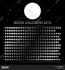 Moon Calendar 2015 Vector Photo Free Trial Bigstock