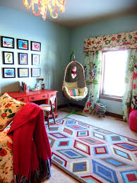 area rug on top of carpet kids eclectic with area rug bold colors
