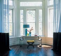 Bay Window Decorating Ideas. A bay window is a natural fit for a console  table.