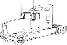 semi truck coloring pages semi truck coloring w3054 semi coloring pages semi truck