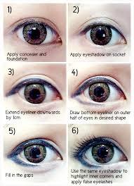 korean eyes makeup