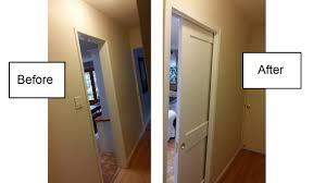 How to install a Pocket door using Johnson Pocket door hardware - YouTube