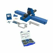 Kreg Jig K5 Master System With Pocket Hole Screw Kit 5 Sizes K5mssk03