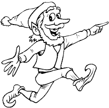 Christmas Elves Coloring Pages Get Coloring Pages