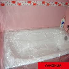 plastic bathtub liner trend liners 49 for your table and chair inspiration with disposable thevote