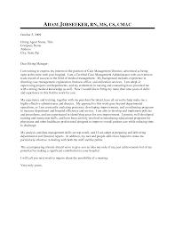 Rn Case Manager Cover Letter Granitestateartsmarket Com