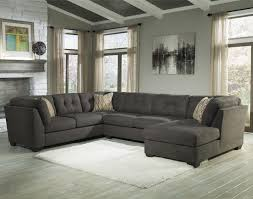 Modular Furniture Living Room Delta City Steel 3 Piece Modular Sectional With Right Chaise By