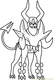 Small Picture Mega Houndoom Pokemon Coloring Page Free Pokmon Coloring Pages