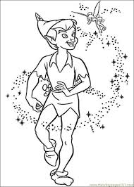 Small Picture Peter Pan N Coloring Page Free Tinkerbell Coloring Pages