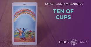 Ten of Cups Tarot Card Meanings | Biddy Tarot