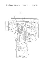 patent us4348991 dual coolant engine cooling system google patents patent drawing