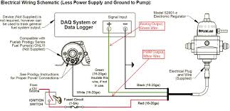 fuelab digital fuel delivery page 2 figure 2 wiring diagram for the electronic regulator