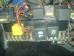 motors mk golf gti progress th very pic heavy bit tech heres the fusebox before its more here for a reference point