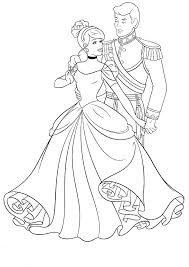 disney princess coloring pages cinderella to print for page