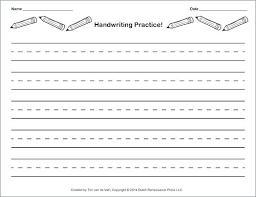 Preschool Handwriting Worksheet Alphabet Practice Paper Preschool