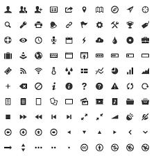 Webフォントにも対応した284個のフリー絵文字アイコン素材entypo