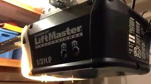 liftmaster 8355 garage door opener chamberlain lift master garage door opener will not close