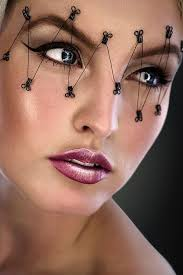 Cool Halloween Eye Makeup Ideas. Try concentrating on your eyes. It is a  smaller