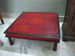 indian coffee table painted teak prayer table from yrs old indian coffee table uk