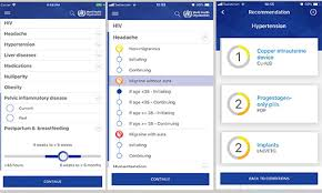 Who New App For Whos Medical Eligibility Criteria For