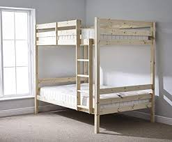 double double bunk beds. Simple Beds DOUBLE Bunkbed  4ft 6 TWIN Bunk Bed INCLUDES 2x QUILTED Sprung Mattresses With Double Beds L