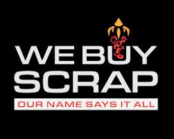 Scrap it up font … We Buy Scrap Logo Design