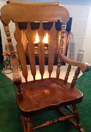com monarch specialties high solid wood rocking chair 45 gorgeous large wooden in addition to