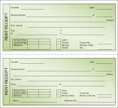 printable rent receipt template blank rent receipts dtk templates