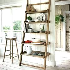 free standing kitchen shelves ladder storage shelf solutions oak lakeside standalone cabin kitchen storage free standing
