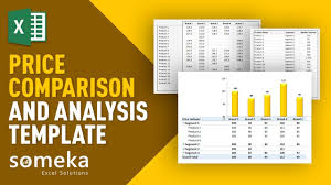 price comparison sheet excel price comparison tool excel template for competitive analysis youtube