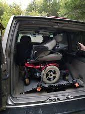 wheelchair lift for van. Jazzy 600 Electric Wheel Chair W/ Bruno Van Lift Wheelchair For
