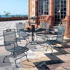 adorable wrought iron outdoor patio ideas refinishing wrought iron patio furniture fascinating patio slabs design ideas jpg