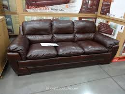 Furniture Best Costco Leather Reclining Sofa For Living Room