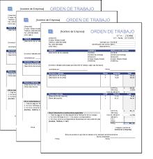 Formato De Hoja De Servicio Formato De Ordenes De Trabajo Plantillas Gratis