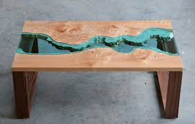 Burled River Coffee Table - unique coffee tables