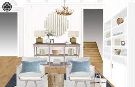 Be Your Own Interior Designer Coastal Living Room Design By Havenly Interior Designer Leah
