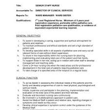 Sample Resume Job Description Staff Nurse New Operating Room Nurse ...