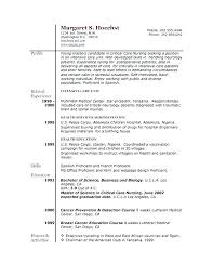 Resume Activities Examples Samples Of Great Resumes Extra Curricular