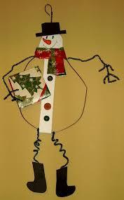 49 Amazing Snowman Craft Ideas. Wire Hanger CraftsWire ...