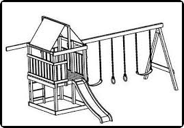 plans to build a kids cubby playhouse backyard jungle swings, with Botswana Free House Plans area, which makes this a little cheaper and easier to build otherwise it still has the same amount of play area with space for 3 swings, Beautiful Houses in Botswana