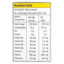 brio nutritional energy drink for 1 kg