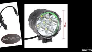 Securitying Lights Securitying Waterproof High Power 3000lm 5x Xm L T6 Led Bicycle Headlight